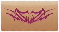 Click on Back Tattoo Checkbook Cover For More Details