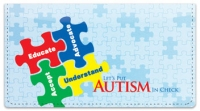 Click on Autism Awareness Checkbook Cover For More Details