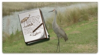 Click on Audubon Sketch Checkbook Cover For More Details