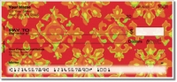 Click on Floral Fabric Personal Checks For More Details