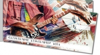 Click on Guitar Art 2 Side Tear Personal Checks For More Details