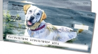 Click on Dog Artwork Side Tear Personal Checks For More Details