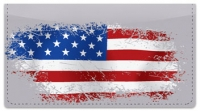 Click on American Flag Checkbook Cover For More Details