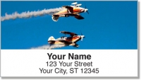 Click on Aerobatic Air Show Address Labels For More Details