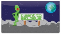 Click on Alien Life Checkbook Cover For More Details