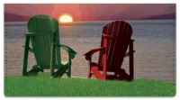 Click on Adirondack Chair Checkbook Cover For More Details
