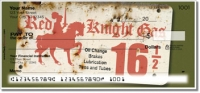 Click on Vintage Gasoline Personal Checks For More Details