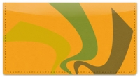 Click on Abstract Orange Checkbook Cover For More Details