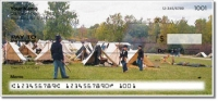 Click on Civil War Reenactor Personal Checks For More Details