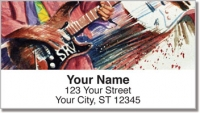 Click on Guitar Art 2 Address Labels For More Details