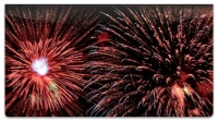 Click on 4th of July Fireworks Checkbook Cover For More Details