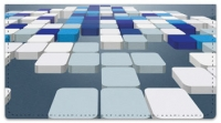 Click on 3D Blocks Checkbook Cover For More Details