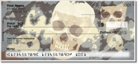 Click on Scary Skull Personal Checks For More Details