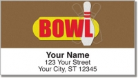 Click on Bowling Alley Address Labels For More Details