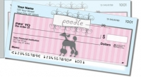 Click on Pink Poodle Side Tear Personal Checks For More Details