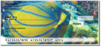 Click on Blue Ring Angelfish Personal Checks For More Details
