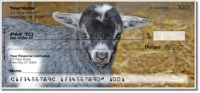 Click on Baby Goat Personal Checks For More Details