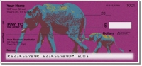 Click on Wild Elephant Personal Checks For More Details