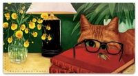 Click on Contemplating Cats 2 Checkbook Cover For More Details