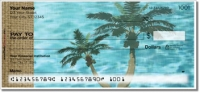 Click on Peaceful Palm Tree Personal Checks For More Details
