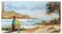 Click on Water Landscape Checkbook Cover For More Details
