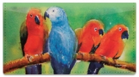 Click on Colorful Parrots Checkbook Cover For More Details