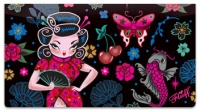 Click on Geisha Girl Checkbook Cover For More Details