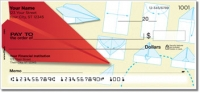 Click on Paper Airplane Personal Checks For More Details