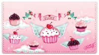 Click on Cupcake Heaven Checkbook Cover For More Details