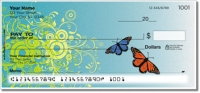 Click on Butterfly Scroll Personal Checks For More Details