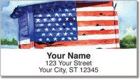 Click on Americana Painting Address Labels For More Details
