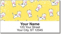 Click on Cute Cow Address Labels For More Details