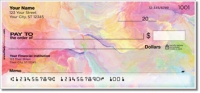 Click on Floral Abstract Personal Checks For More Details