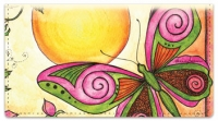 Click on Whimsical Wings Checkbook Cover For More Details