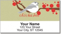 Click on Chickadee Address Labels For More Details