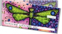 Click on Dragonfly Art Side Tear Personal Checks For More Details