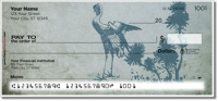 Click on Japanese Bird Art Personal Checks For More Details