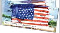 Click on Americana Painting Side Tear For More Details