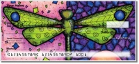 Click on Dragonfly Art Personal Checks For More Details