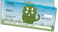 Click on Cute Dino Side Tear Personal Checks For More Details