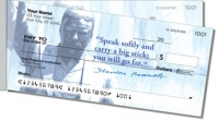 Click on Teddy Roosevelt Side Tear Personal Checks For More Details