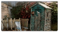Click on Outhouse Checkbook Cover For More Details