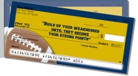 Click on Knute Rockne Side Tear Personal Checks For More Details