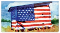 Click on Americana Painting Checkbook Cover For More Details