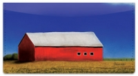Click on Barns Close Up Checkbook Cover For More Details