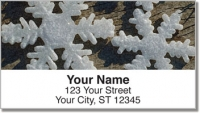 Click on Christmas Snowflake Address Labels For More Details