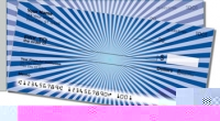 Click on Blue Starburst Side Tear Personal Checks For More Details