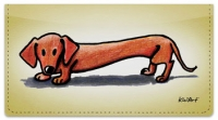 Click on Doxie Series Checkbook Cover For More Details