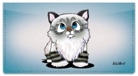 Click on Cat Series 2 Checkbook Cover For More Details