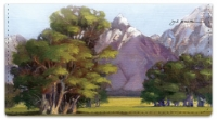 Click on Grand Tetons Checkbook Cover For More Details